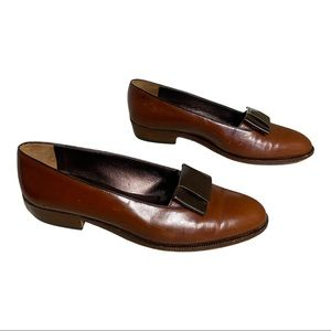 Geoffrey Beene | Leather Loafers | 7